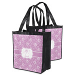 Lotus Flowers Grocery Bag (Personalized)