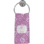 Lotus Flowers Hand Towel - Full Print (Personalized)
