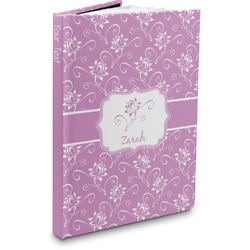 Lotus Flowers Hardbound Journal (Personalized)