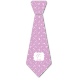 Lotus Flowers Iron On Tie (Personalized)