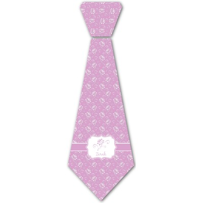 Lotus Flowers Iron On Tie (Personalized)