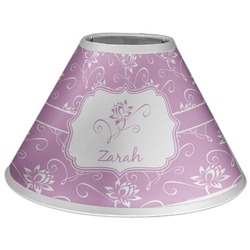 Lotus Flowers Coolie Lamp Shade (Personalized)