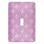Lotus Flowers Light Switch Covers (Personalized)