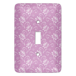 Lotus Flowers Light Switch Covers - Multiple Toggle Options Available (Personalized)