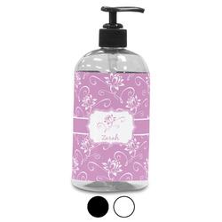 Lotus Flowers Plastic Soap / Lotion Dispenser (Personalized)
