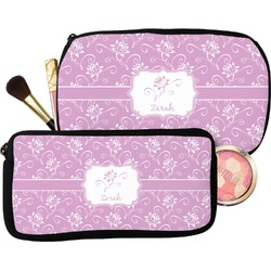 Lotus Flowers Makeup / Cosmetic Bag (Personalized)