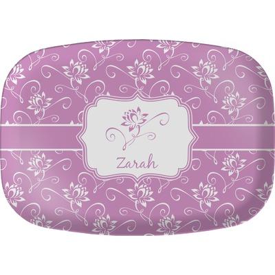 Lotus Flowers Melamine Platter (Personalized)