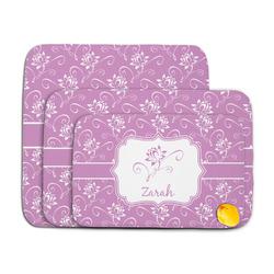 Lotus Flowers Memory Foam Bath Mat (Personalized)