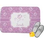 Lotus Flowers Memory Foam Bath Mat (Personalized)