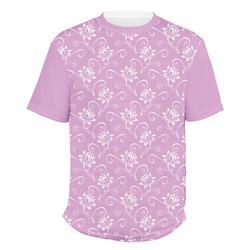 Lotus Flowers Men's Crew T-Shirt (Personalized)