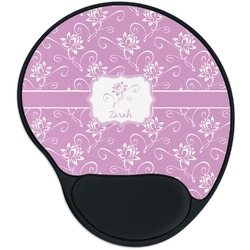 Lotus Flowers Mouse Pad with Wrist Support