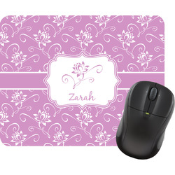 Lotus Flowers Mouse Pad (Personalized)