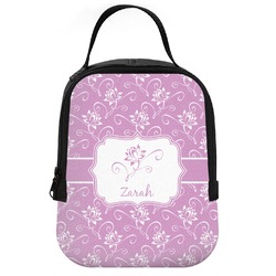 Lotus Flowers Neoprene Lunch Tote (Personalized)