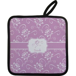 Lotus Flowers Pot Holder (Personalized)