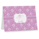 Lotus Flowers Notecards (Personalized)