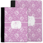 Lotus Flowers Notebook Padfolio w/ Name or Text