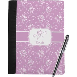 Lotus Flowers Notebook Padfolio (Personalized)