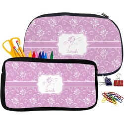 Lotus Flowers Pencil / School Supplies Bag (Personalized)