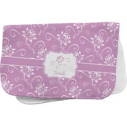 Lotus Flowers Burp Cloth (Personalized)
