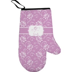 Lotus Flowers Right Oven Mitt (Personalized)