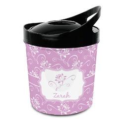 Lotus Flowers Plastic Ice Bucket (Personalized)