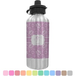 Lotus Flowers Water Bottle (Personalized)