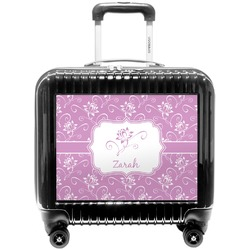 Lotus Flowers Pilot / Flight Suitcase (Personalized)