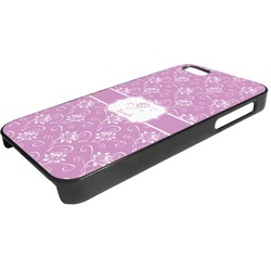 Lotus Flowers Plastic iPhone 5/5S Phone Case (Personalized)