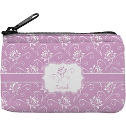 Lotus Flowers Rectangular Coin Purse (Personalized)