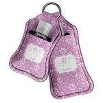 Lotus Flowers Hand Sanitizer & Keychain Holder (Personalized)