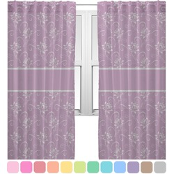 Lotus Flowers Sheer Curtains (Personalized)