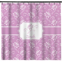 Lotus Flowers Shower Curtain (Personalized)