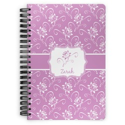 Lotus Flowers Spiral Bound Notebook (Personalized)