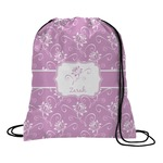 Lotus Flowers Drawstring Backpack (Personalized)