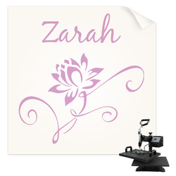 Lotus Flowers Sublimation Transfer (Personalized)