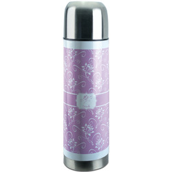 Lotus Flowers Stainless Steel Thermos (Personalized)
