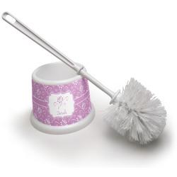 Lotus Flowers Toilet Brush (Personalized)