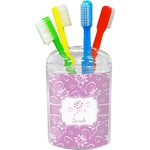 Lotus Flowers Toothbrush Holder (Personalized)