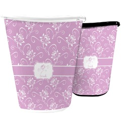 Lotus Flowers Waste Basket (Personalized)