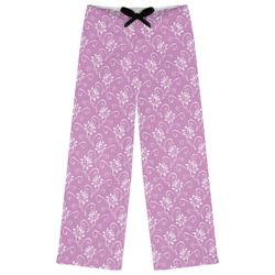 Lotus Flowers Womens Pajama Pants (Personalized)
