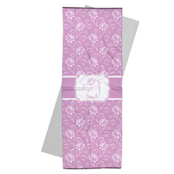 Lotus Flowers Yoga Mat Towel (Personalized)