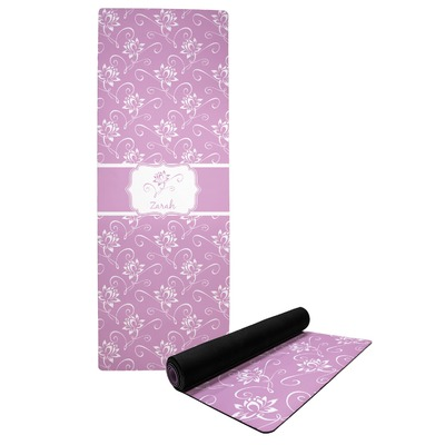 Lotus Flowers Yoga Mat (Personalized)