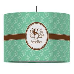 Om Drum Pendant Lamp (Personalized)