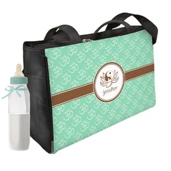 Om Diaper Bag w/ Name or Text