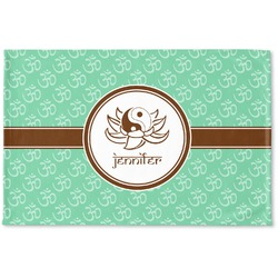 Om Woven Mat (Personalized)