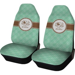 Om Car Seat Covers (Set of Two) (Personalized)