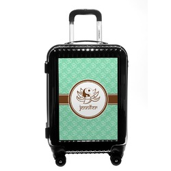 Om Carry On Hard Shell Suitcase (Personalized)