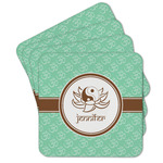 Om Cork Coaster - Set of 4 w/ Name or Text