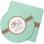 Om Rubber Backed Coaster (Personalized)