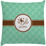 Om Decorative Pillow Case (Personalized)